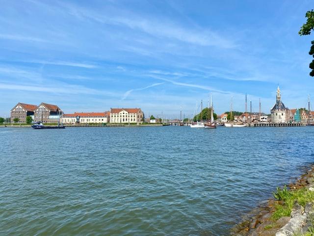 De historische stad Hoorn